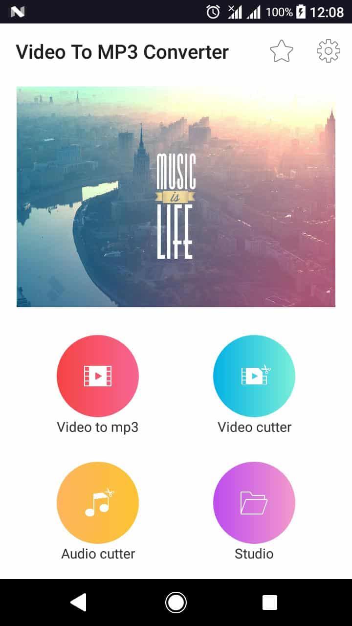 H20 Studio Video to MP3 Converter