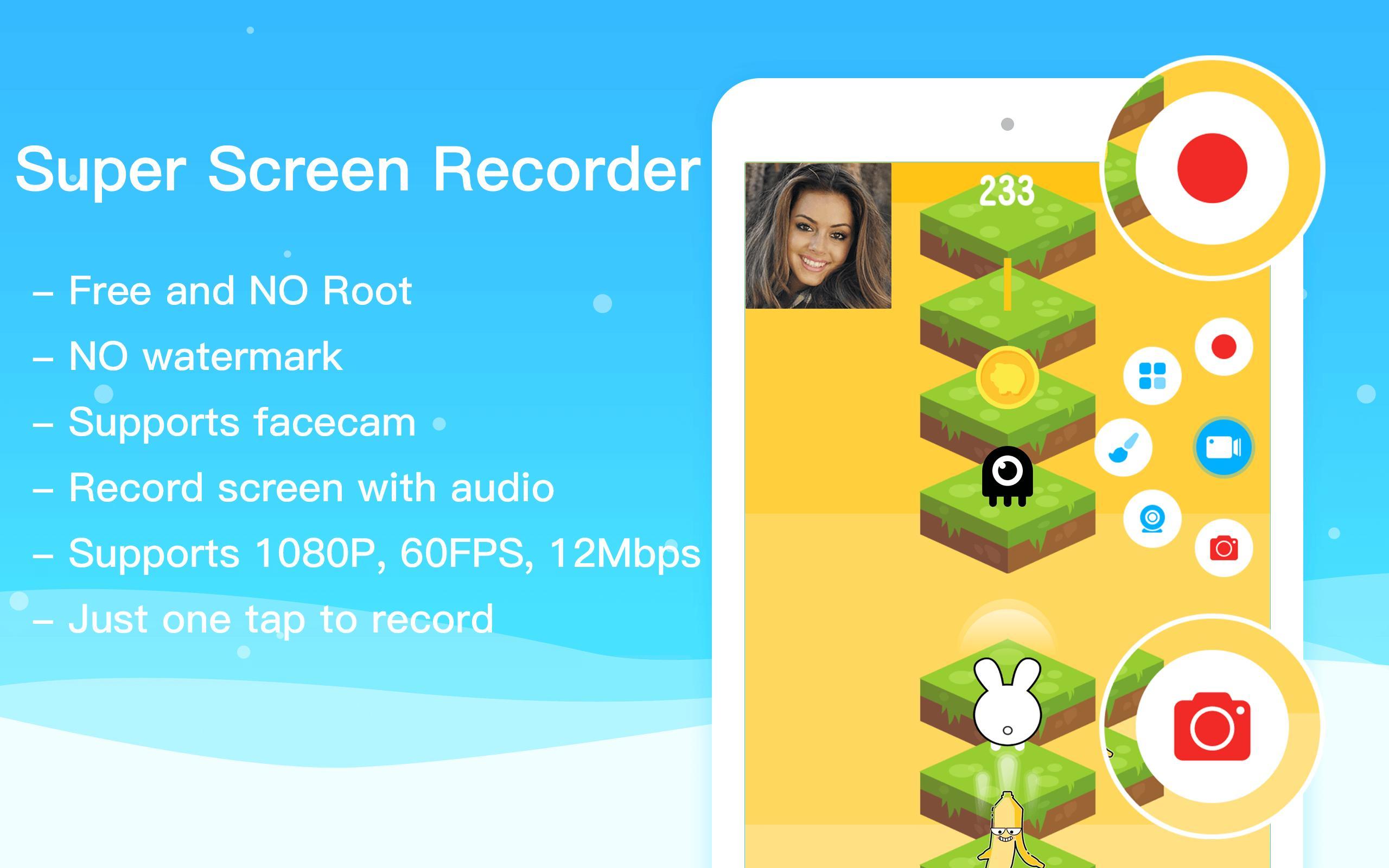 Super Screen Record Perekam Layar Tanpa Root