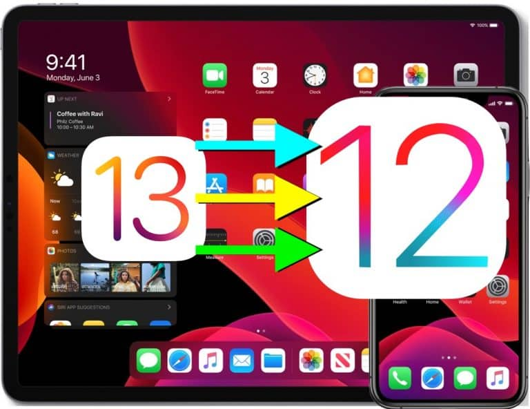 Cara-Downgrade-iOS