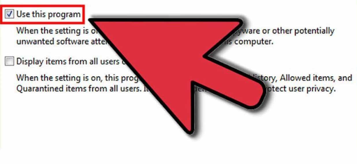 Centang-pada-kolom-Use-This-Program-dan-klik