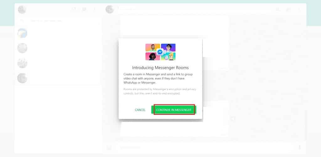 Di-layar-akan-tampil-pesan-konfirmasi-pilih-opsi-Continue-in-Messenger