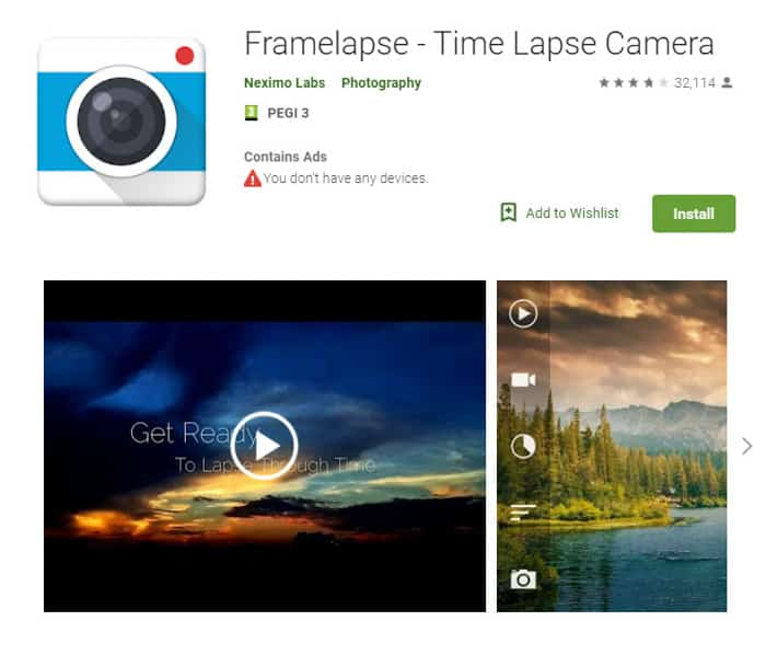 Frame-Lapse