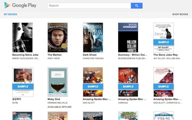 Google-Play-Book
