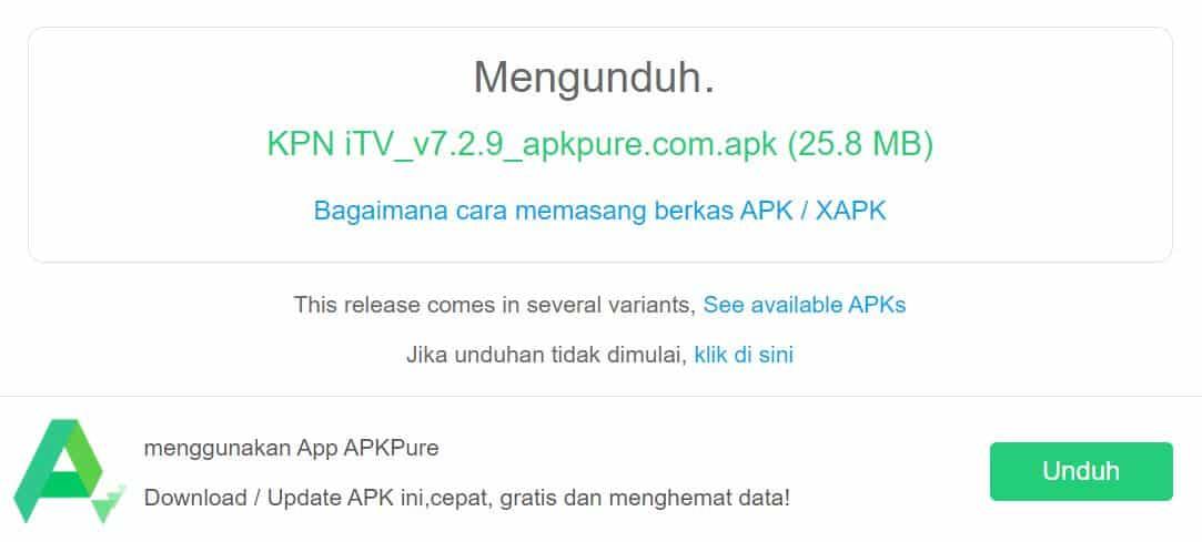 Langkah pertama, buka folder download tempat Anda menyimpan file APK dari KPN TV yang tadi didownload.