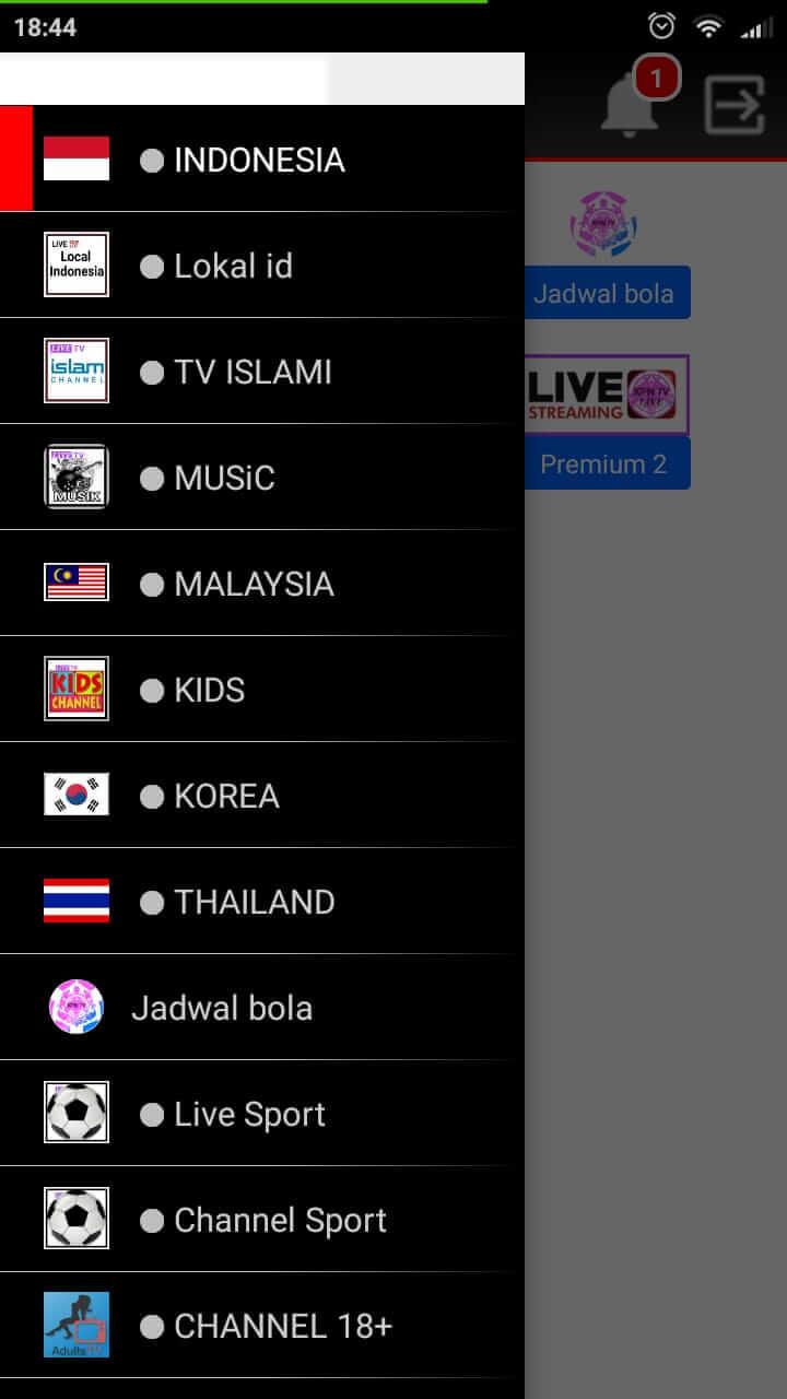 Menyediakan Banyak Channel dari Berbagai Negara