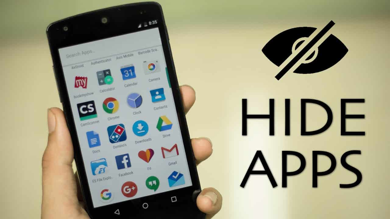 Menyembunyikan-Aplikasi