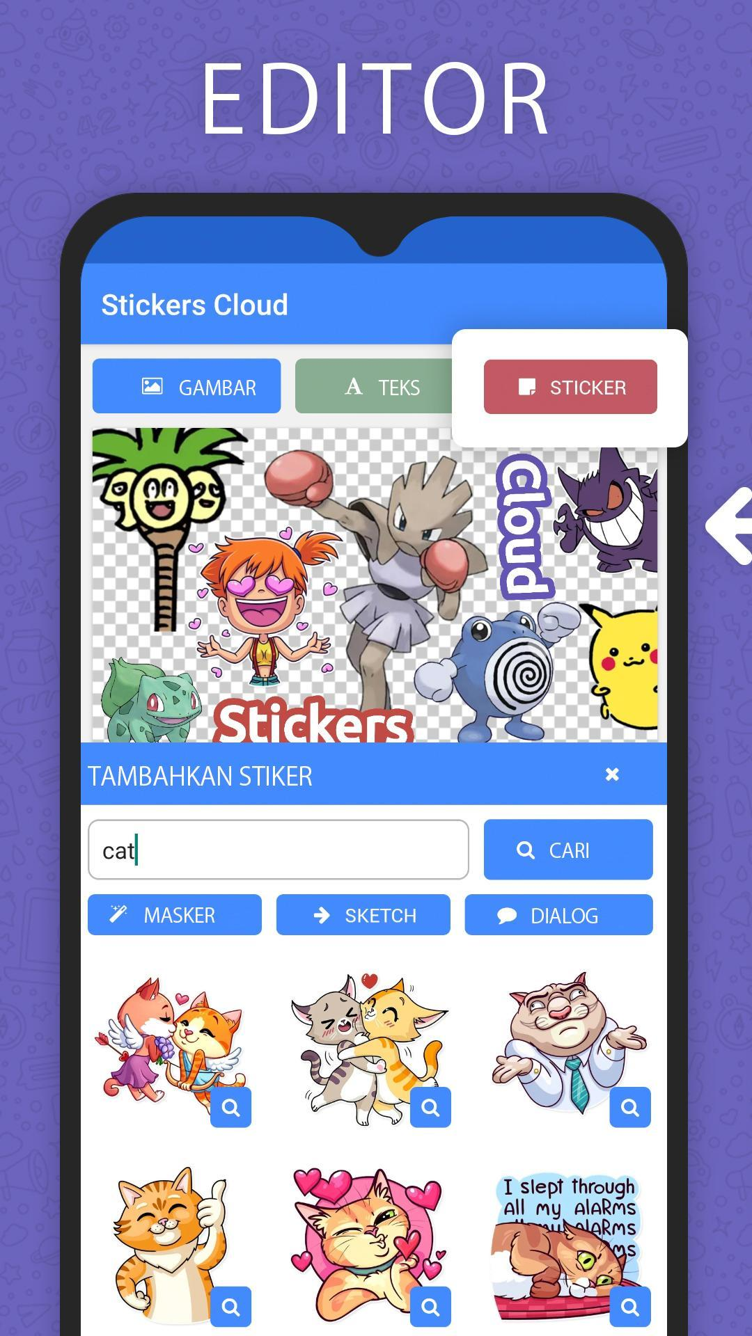 Stickers-Cloud