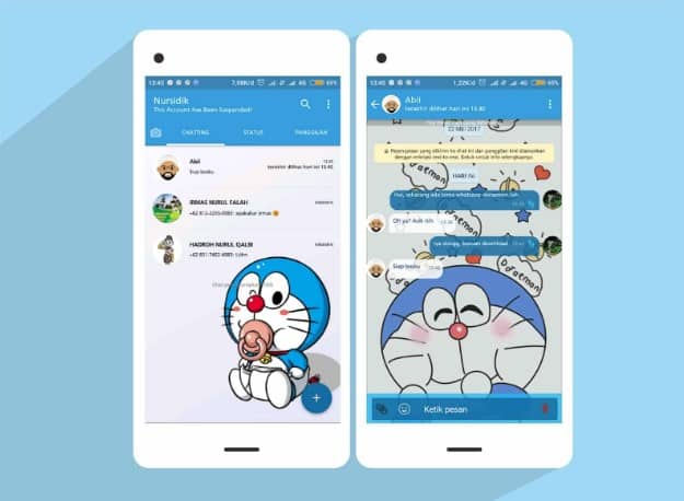 WhatsApp-Doraemon
