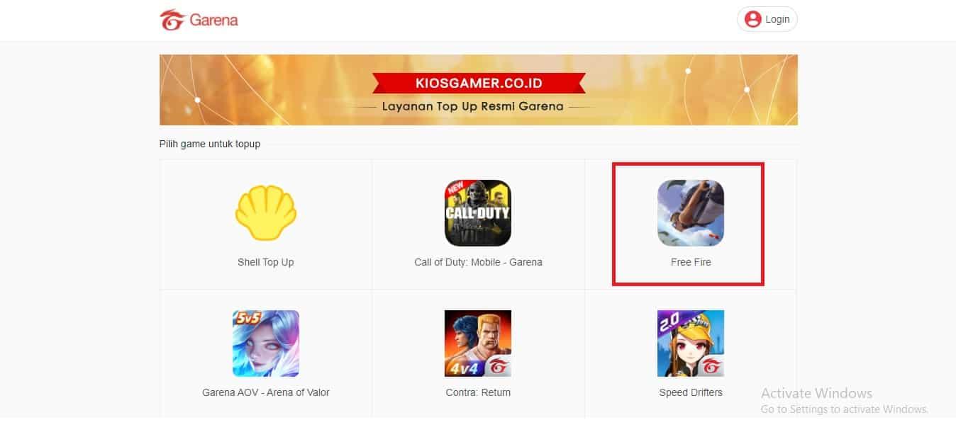 Buka-situs-Kiosgamer-co-id-kemudian-Pilih-Menu-Game-Free-Fire