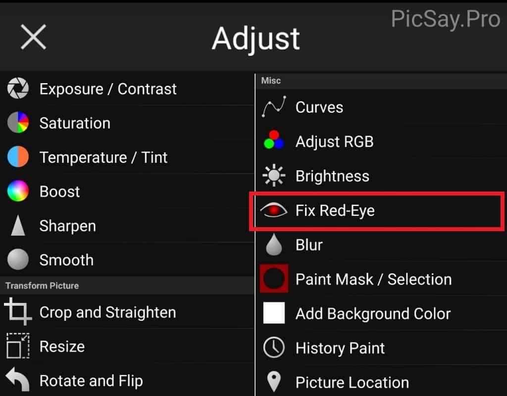 Fix-Red-Eye
