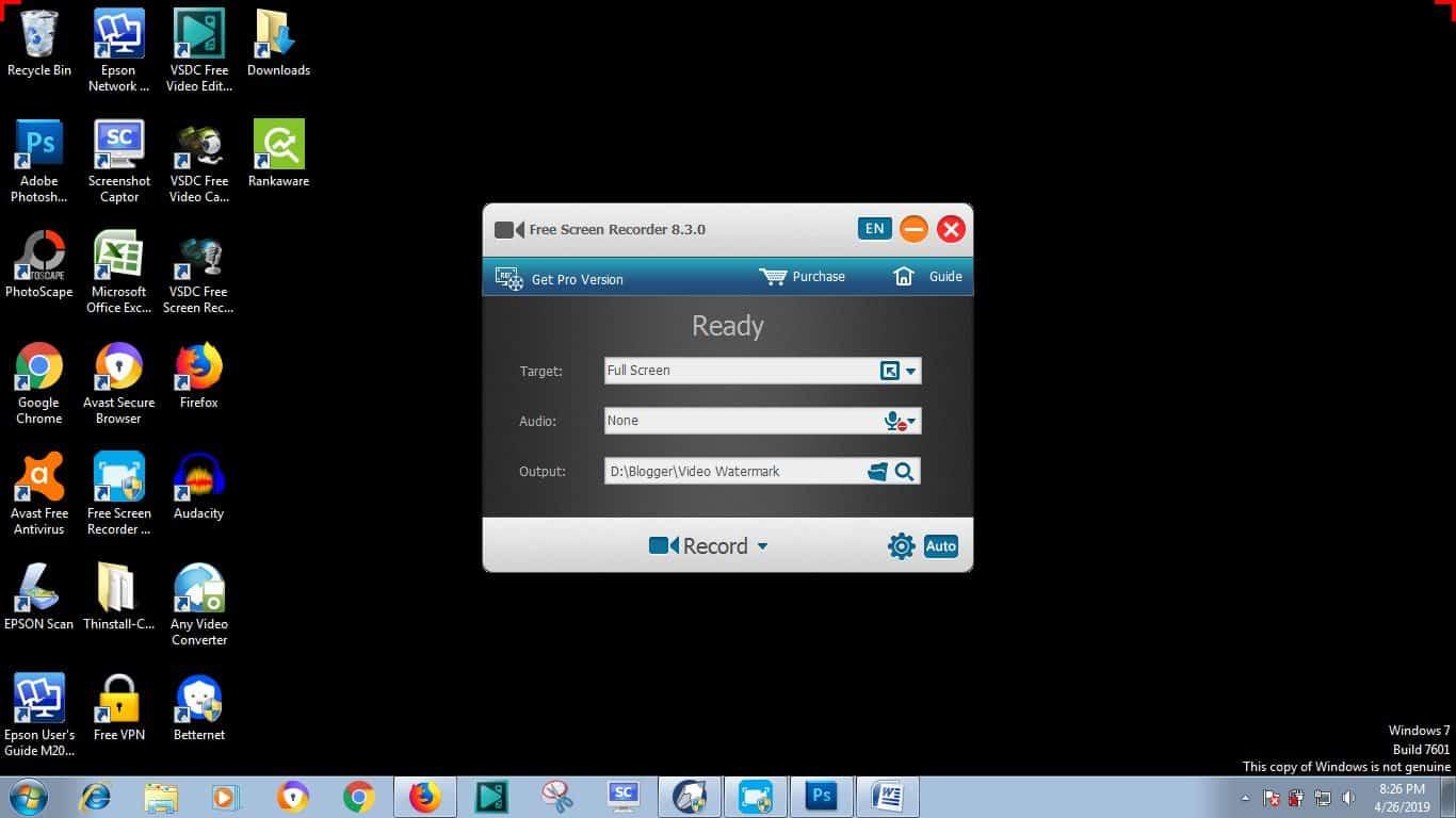 Free-Screen-Video-Recorder
