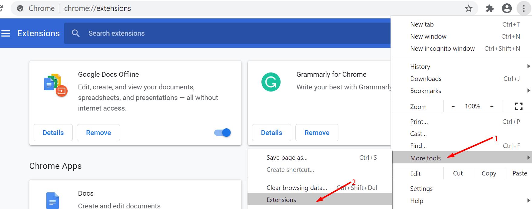 Kemudian-klik-Extensions