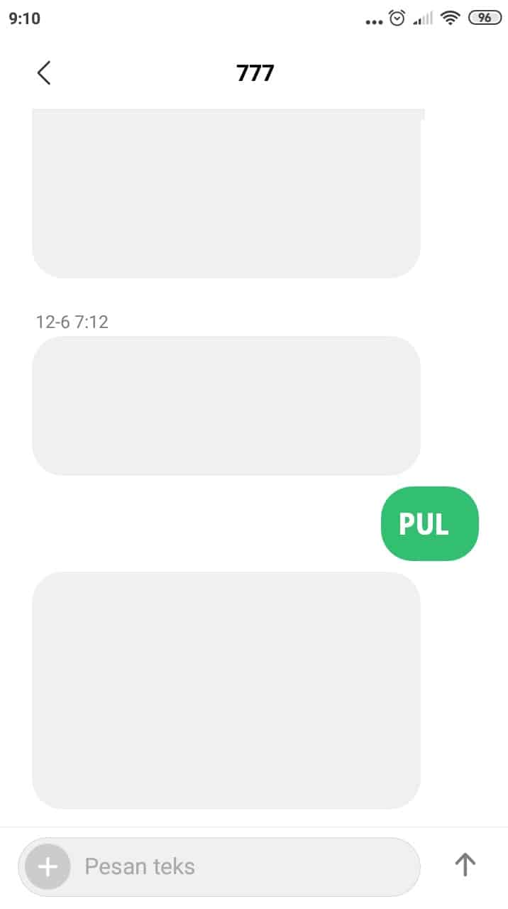 Kemudian-tulis-pesan-dengan-format-PUL