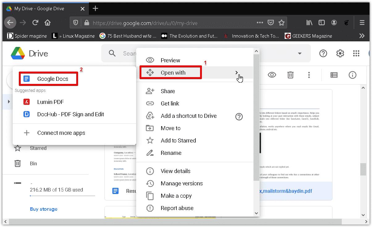 Klik-lagi-pada-opsi-Open-With-dan-pilih-pada-tulisan-Google-Docs