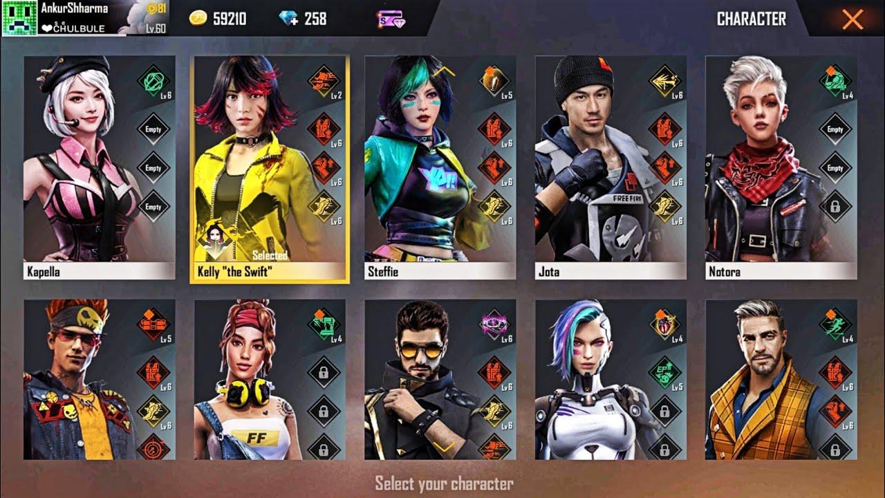 Membuka-Semua-Character-Dalam-Game