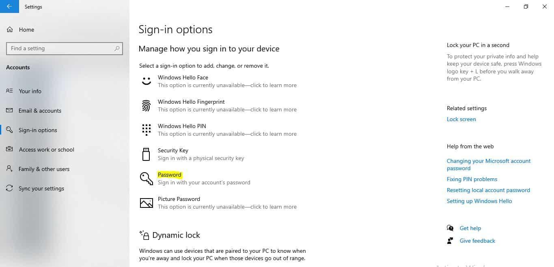 Pada-bagian-Password-Anda-bisa-memilih-Change