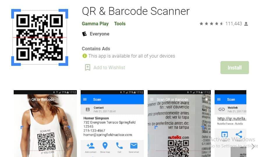 QR-Barcode-Scanner
