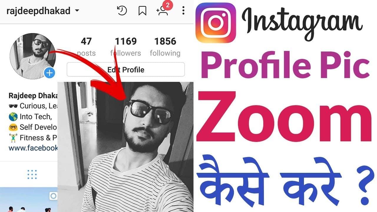 Zoom-Foto-Profil