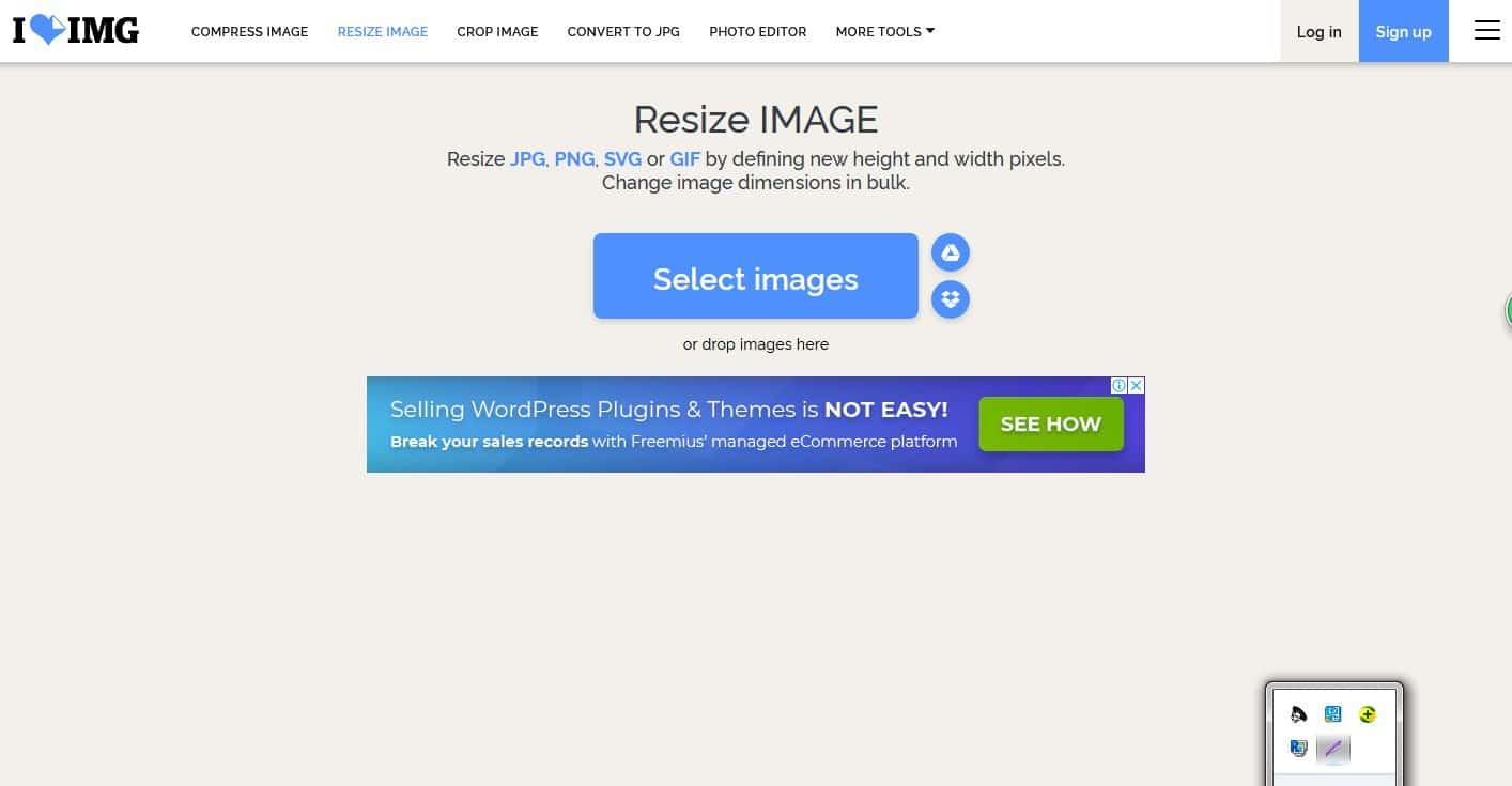 Pada-halaman-utama-situs-klik-pada-tombol-Select-Images-dan-pilihlah-foto-yang-ukurannya-ingin-diperbesar