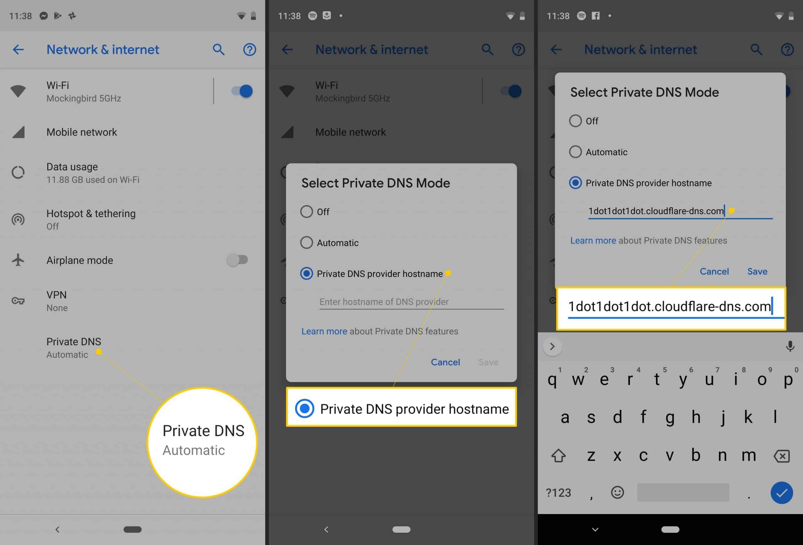 Pilih-private-DNS