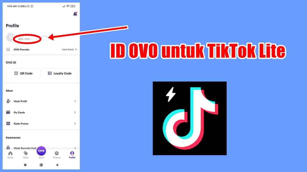 2-Cara-Melihat-ID-OVO-untuk-Tiktok-Lite-Jangan-Sampai-Salah