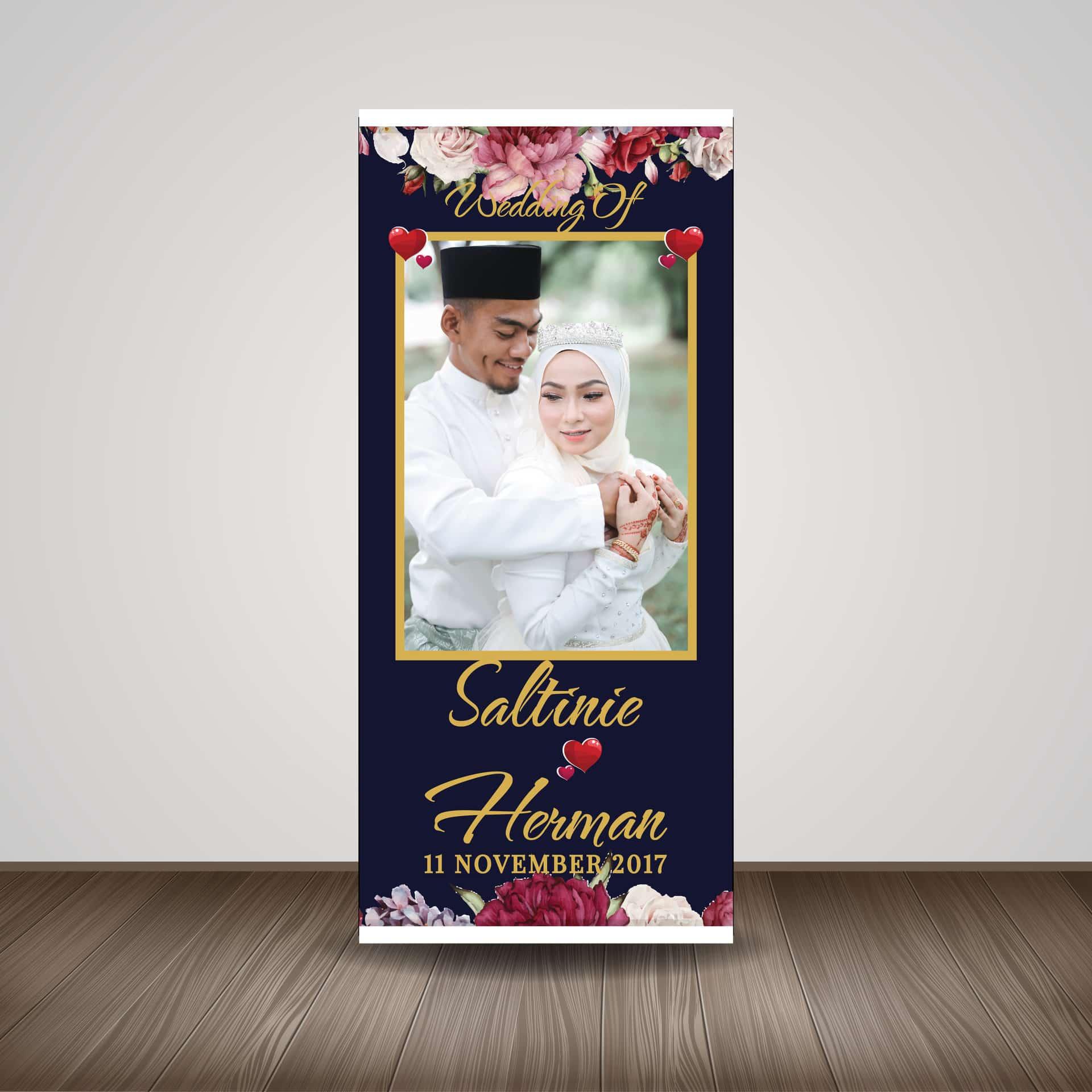 Aneka-Jenis-dan-Ukuran-Banner-Wedding-Tipe-X-Banner