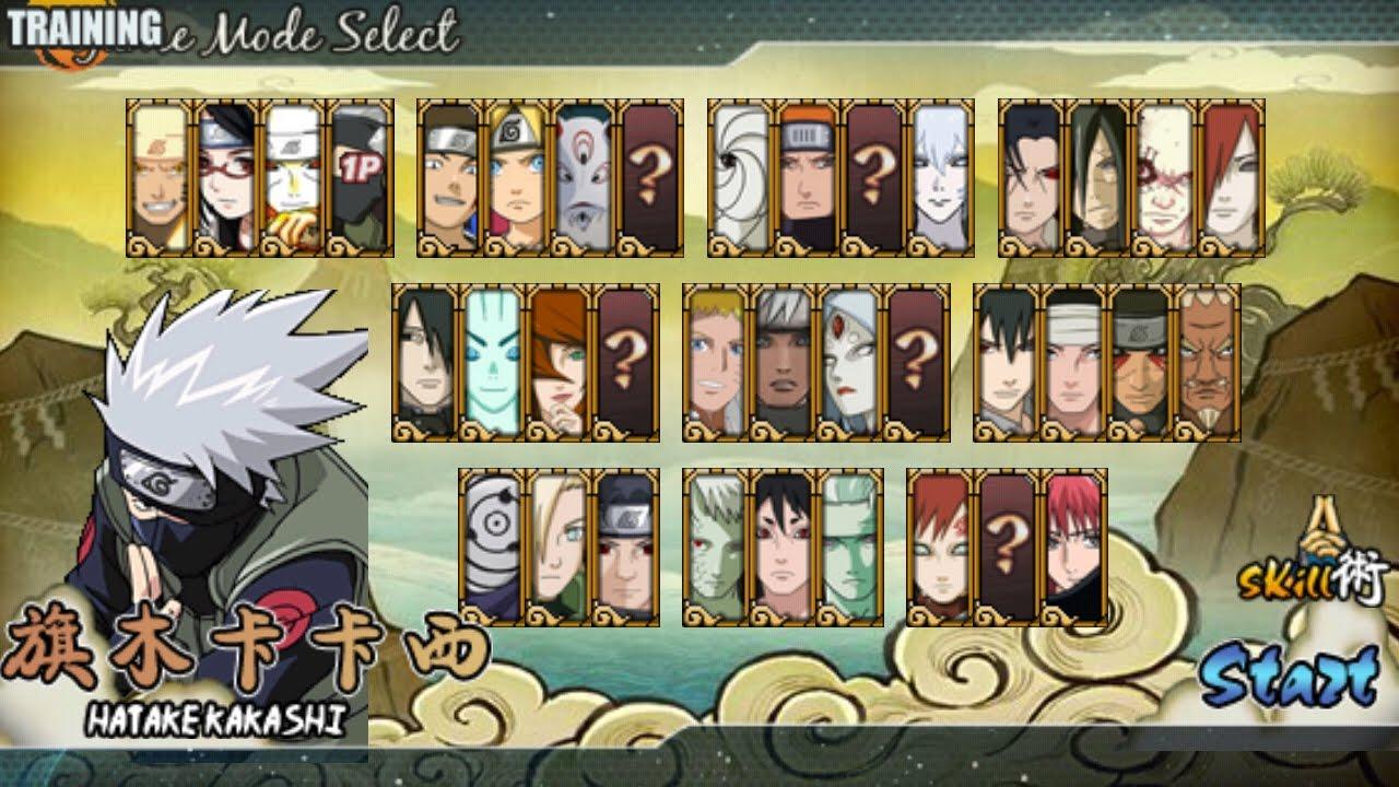 Cara-Memainkan-Naruto-Senki