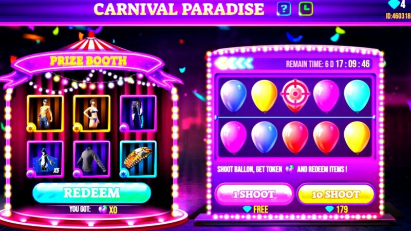 Cara-Mengikuti-Event-Carnival-Paradise-Garena-Free-Fire