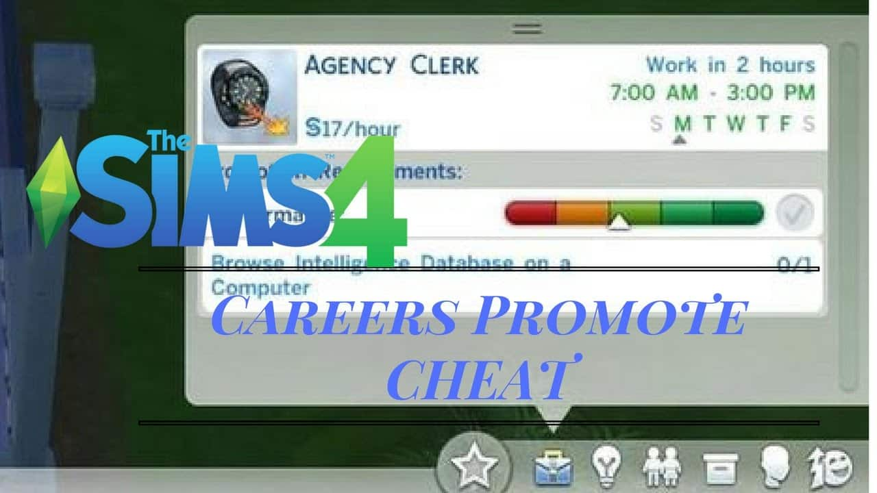 Cheat-Promosi-Karir-Sims