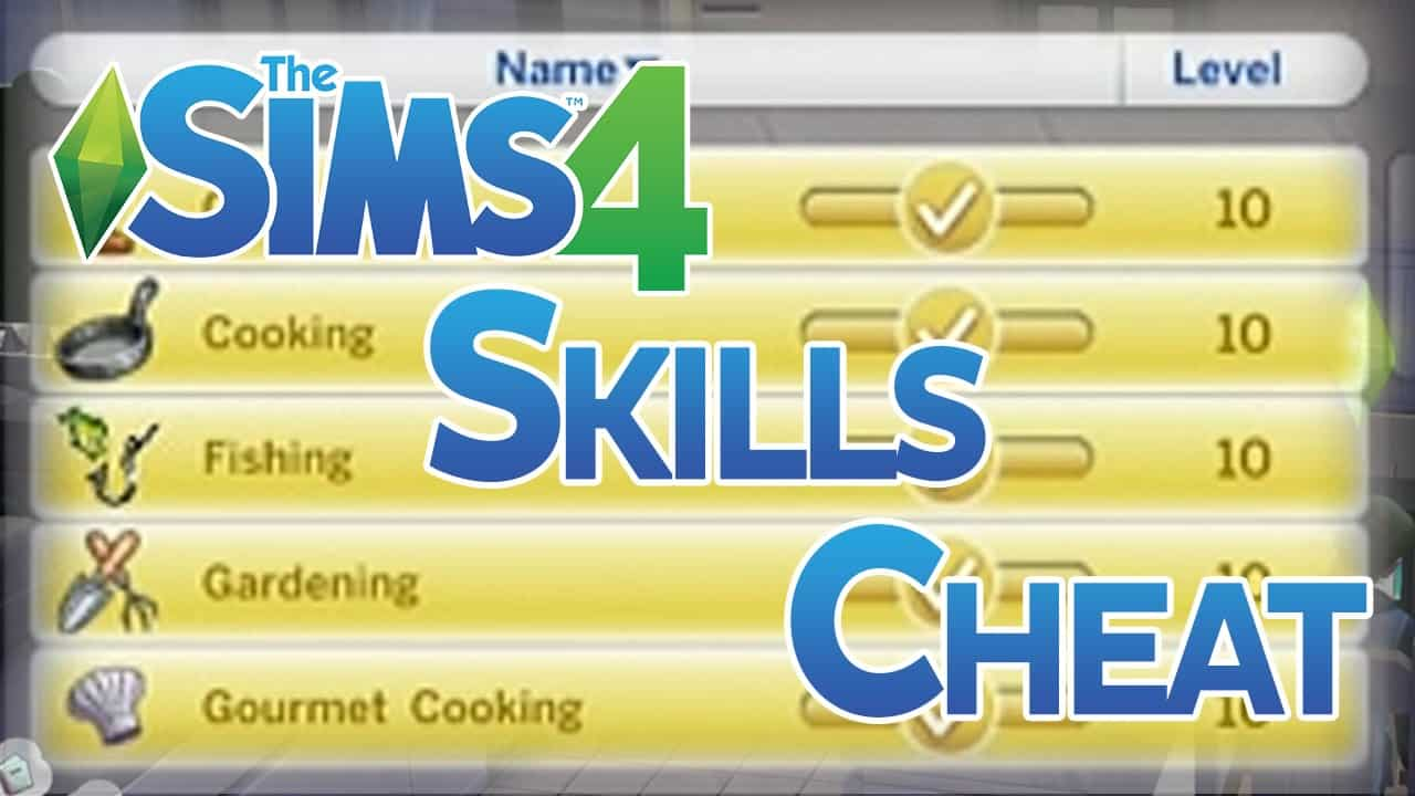 Cheat-Skill-Sims