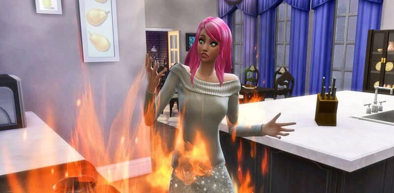 Cheat-The-Sims-4-Penyakit