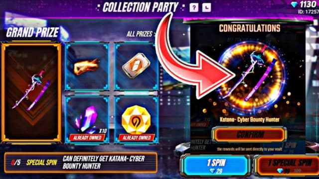 Collection-Party-Free-Fire
