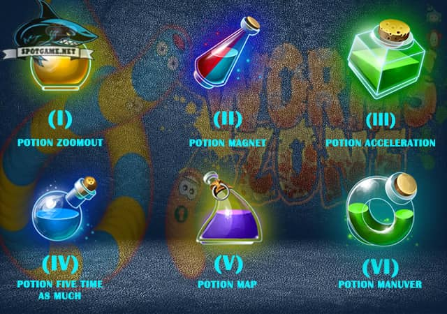 Daftar-Power-Up-Game-Worms-Zone