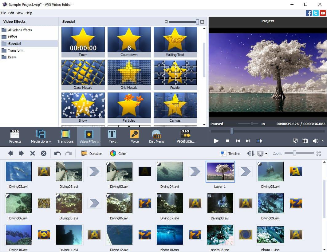 Editor-Video-AVS