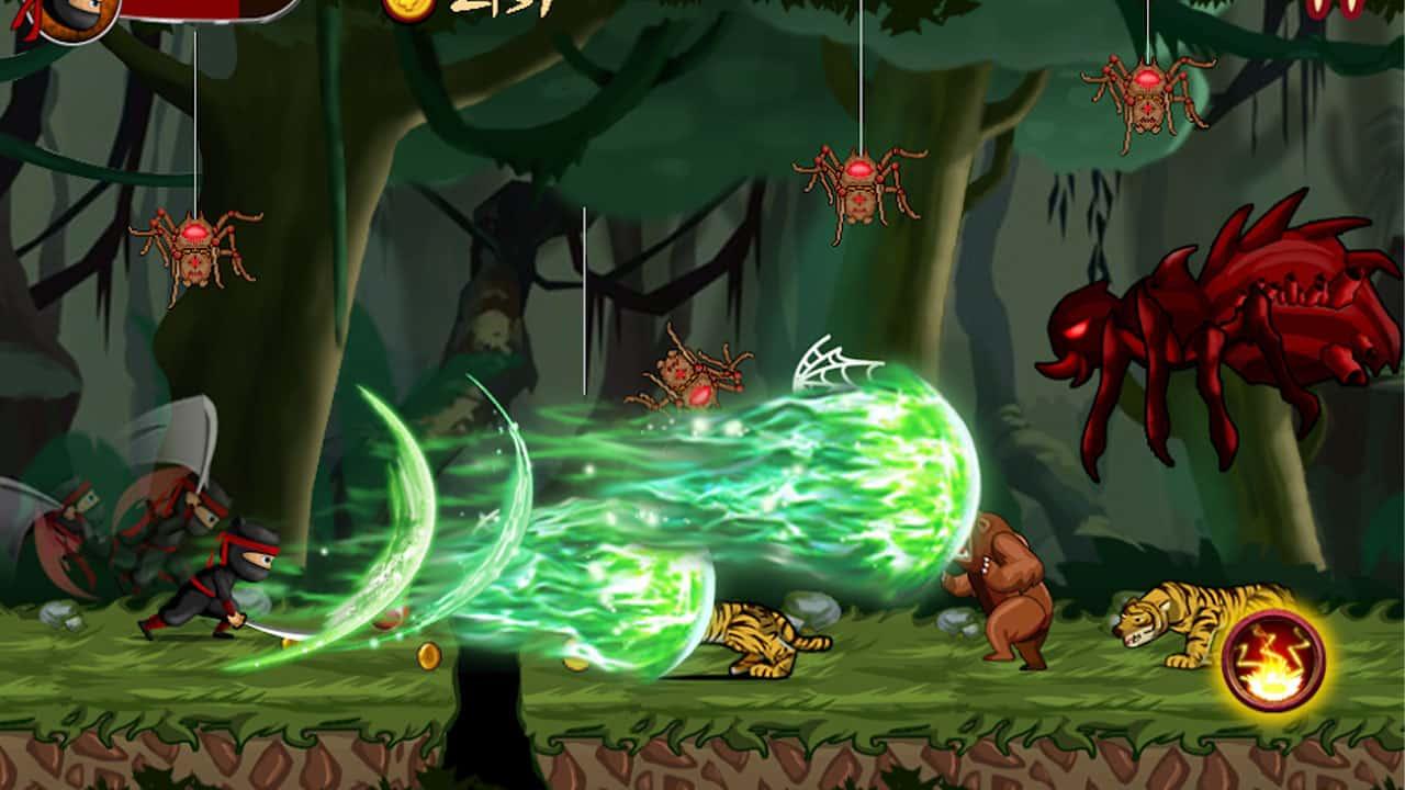 Fitur-Ninja-Heroes-Mod
