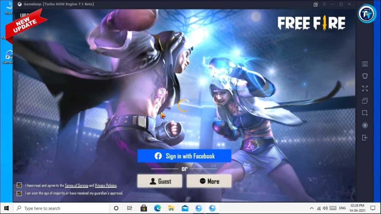 Gameloop-FF-PC