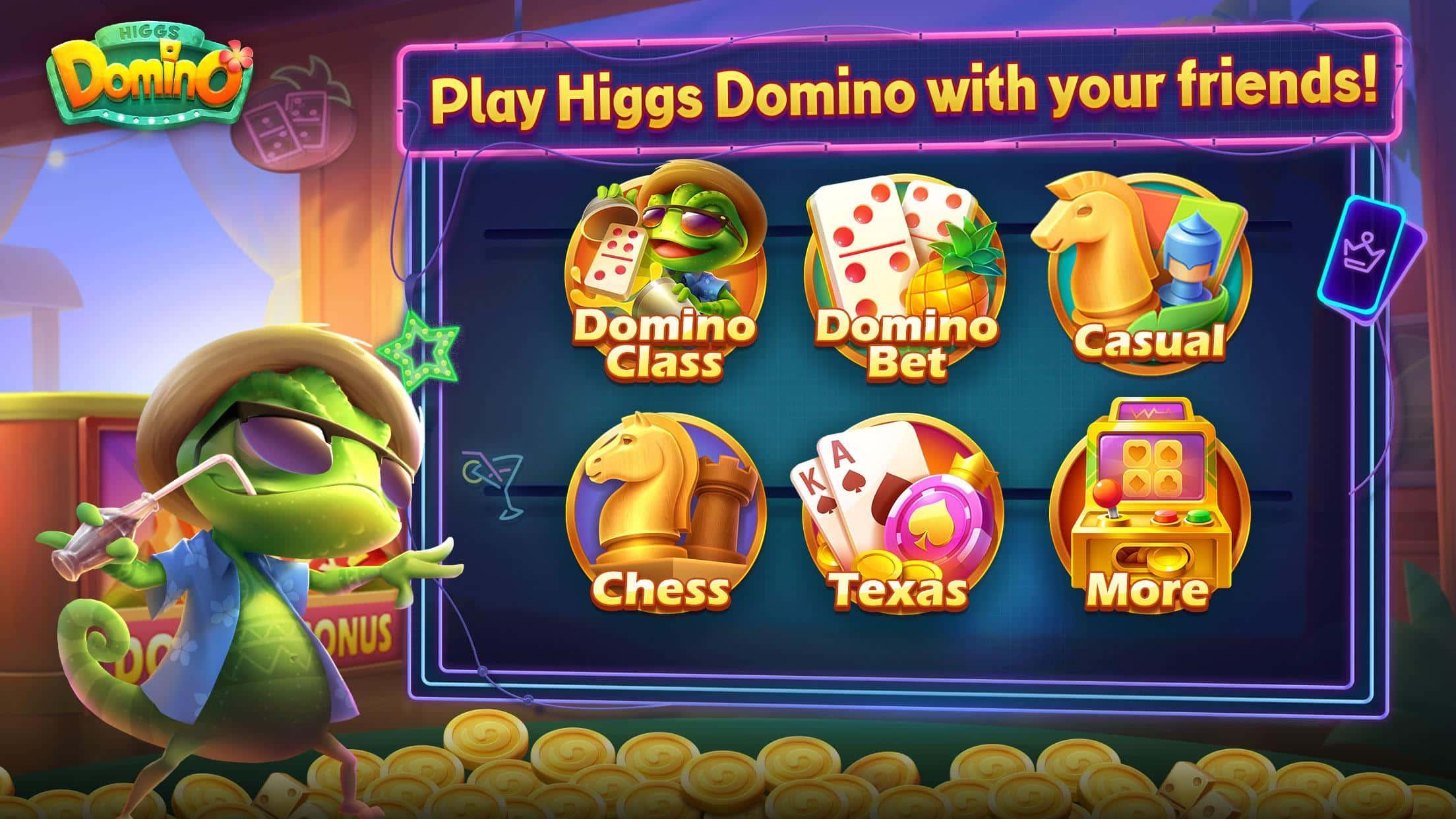 Higgs-Domino