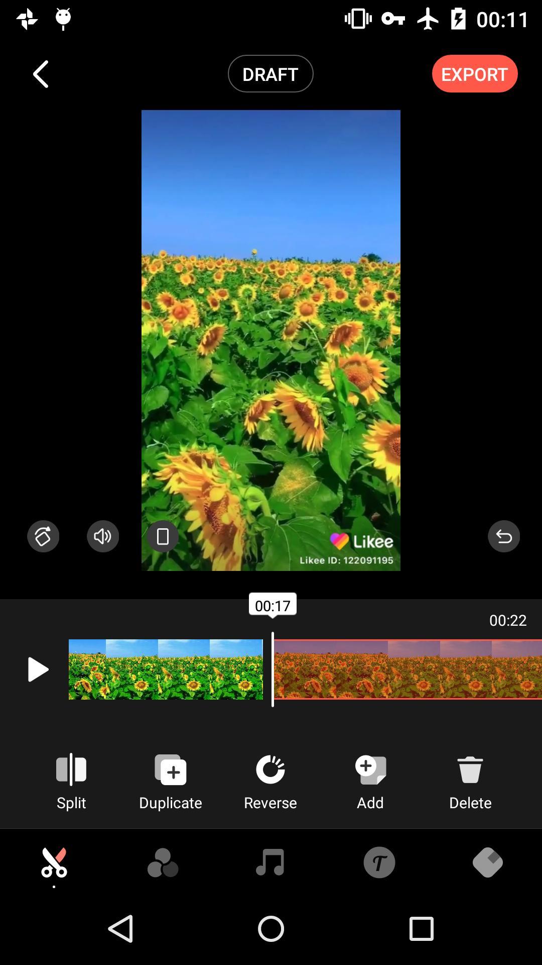 Pilih-Opsi-Video-kemudian-upload-video-yang-telah-diunduh-dari-TikTok-sebelumnya