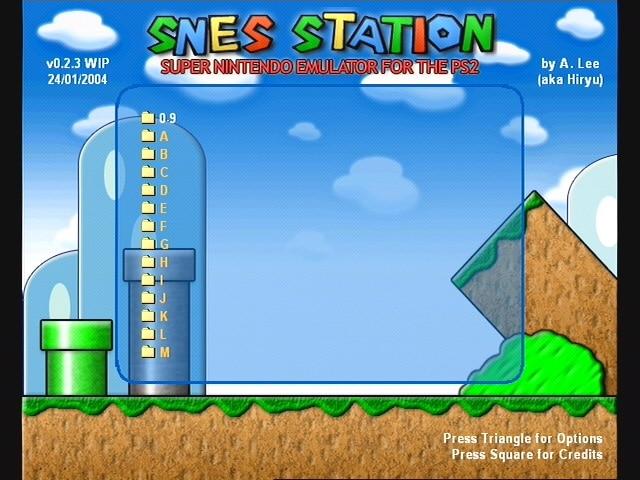 SNES-Station-Emulator