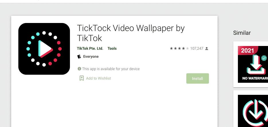 Wallpaper-TikTok